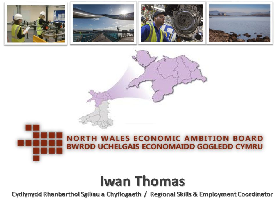 Iwan Thomas Cydlynydd Rhanbarthol Sgiliau a Chyflogaeth / Regional Skills & Employment Coordinator.