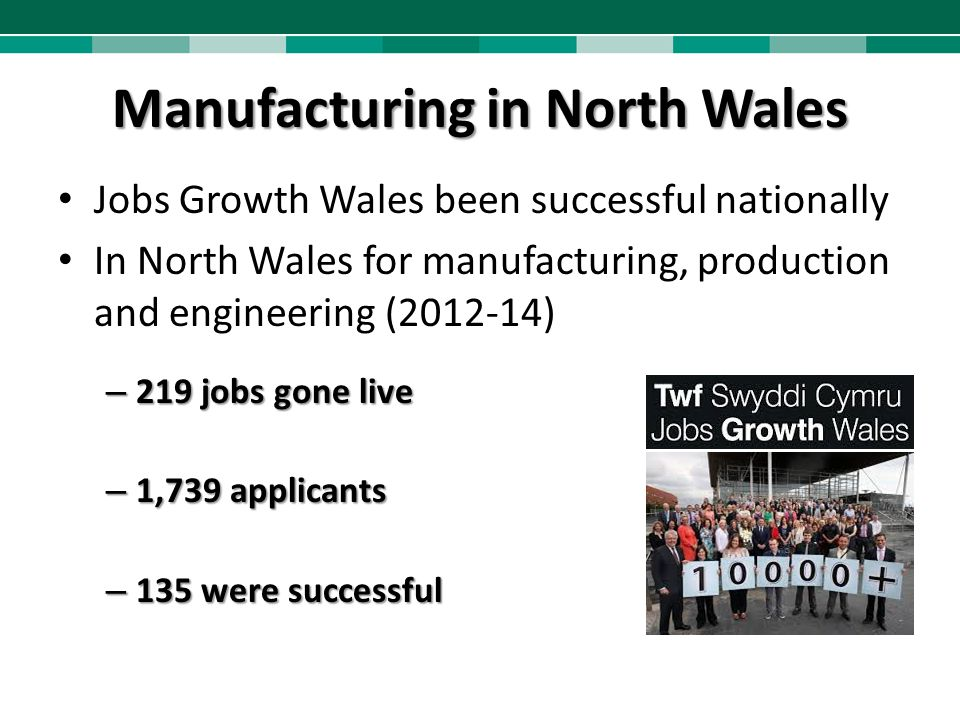 Manufacturing in North Wales