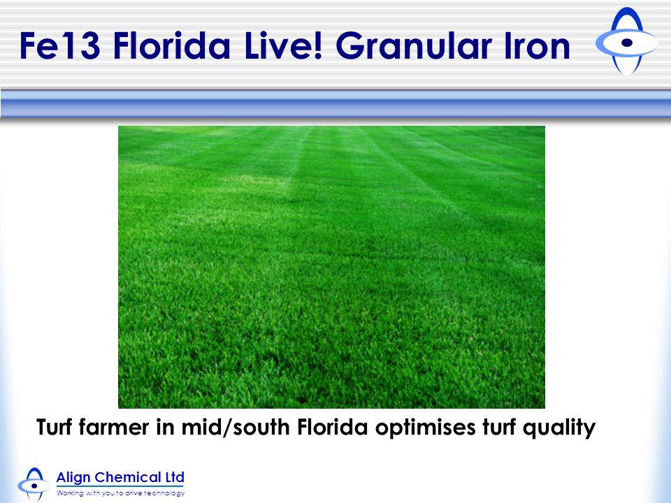 Fe13 Florida Live! Granular Iron