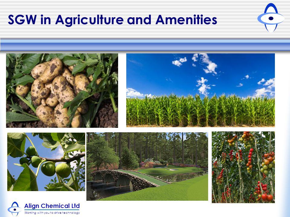 SGW in Agriculture and Amenities