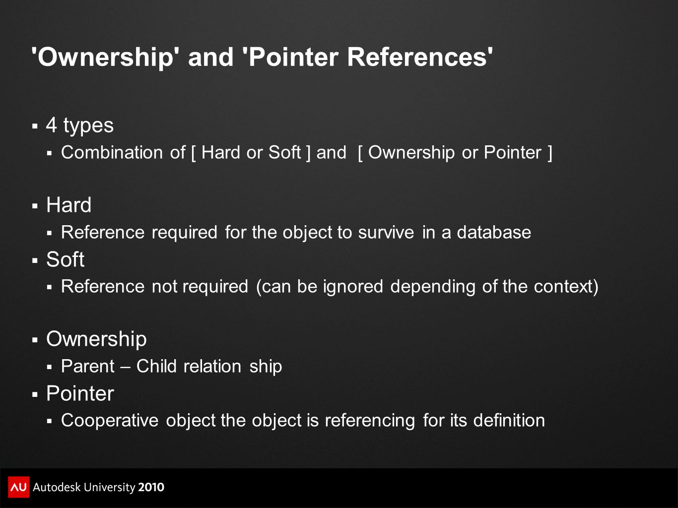 Ownership and Pointer References