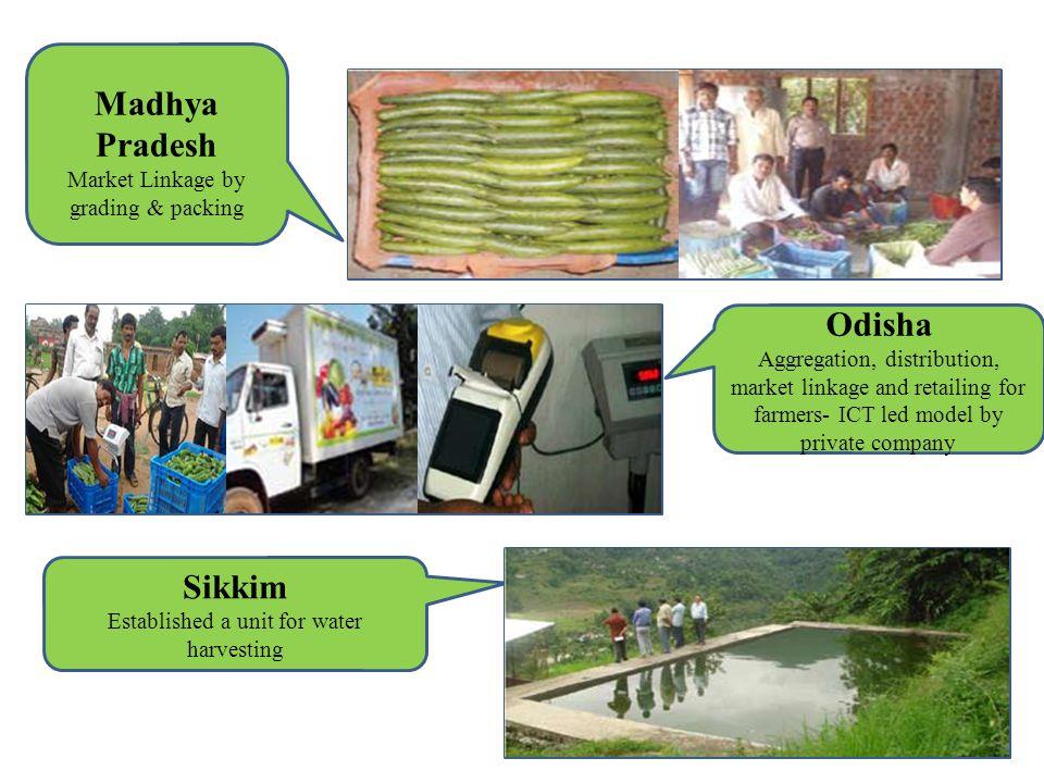 Madhya Pradesh Odisha Sikkim