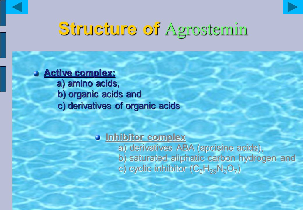 Structure of Agrostemin