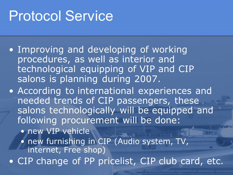 Protocol Service