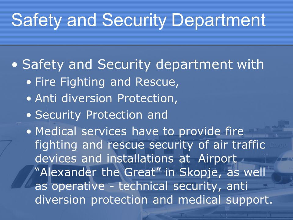 Safety and Security Department