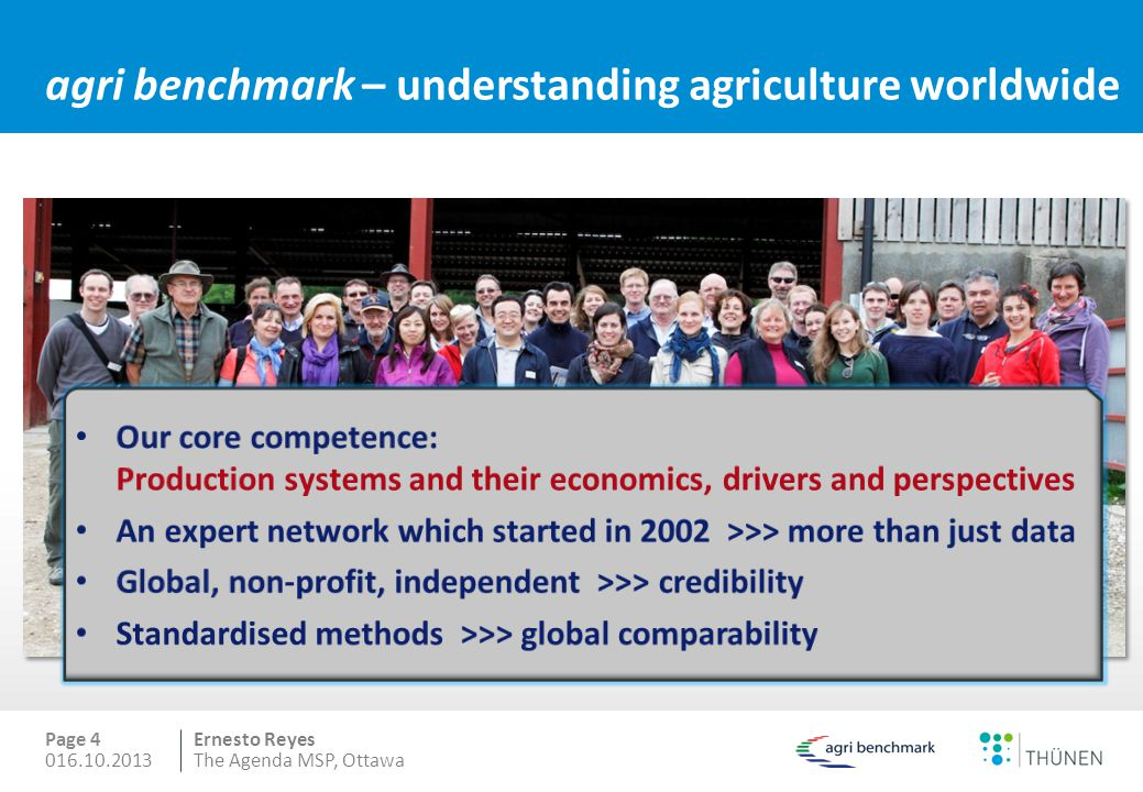 agri benchmark – understanding agriculture worldwide