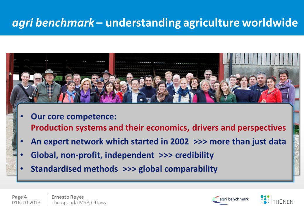 agri benchmark – understanding agriculture worldwide