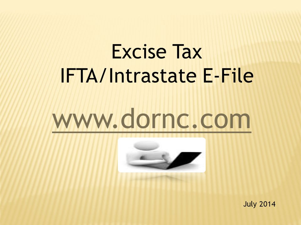Excise Tax IFTA/Intrastate E-File