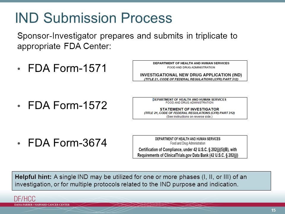 IND Submission Process