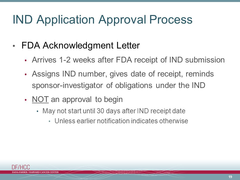 IND Application Approval Process