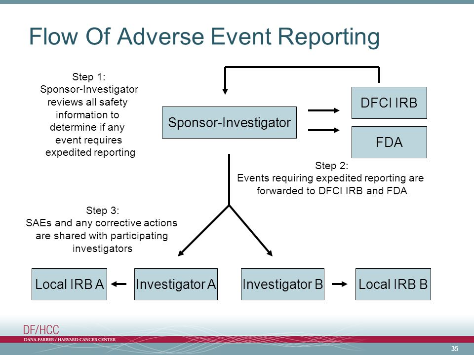 Flow Of Adverse Event Reporting