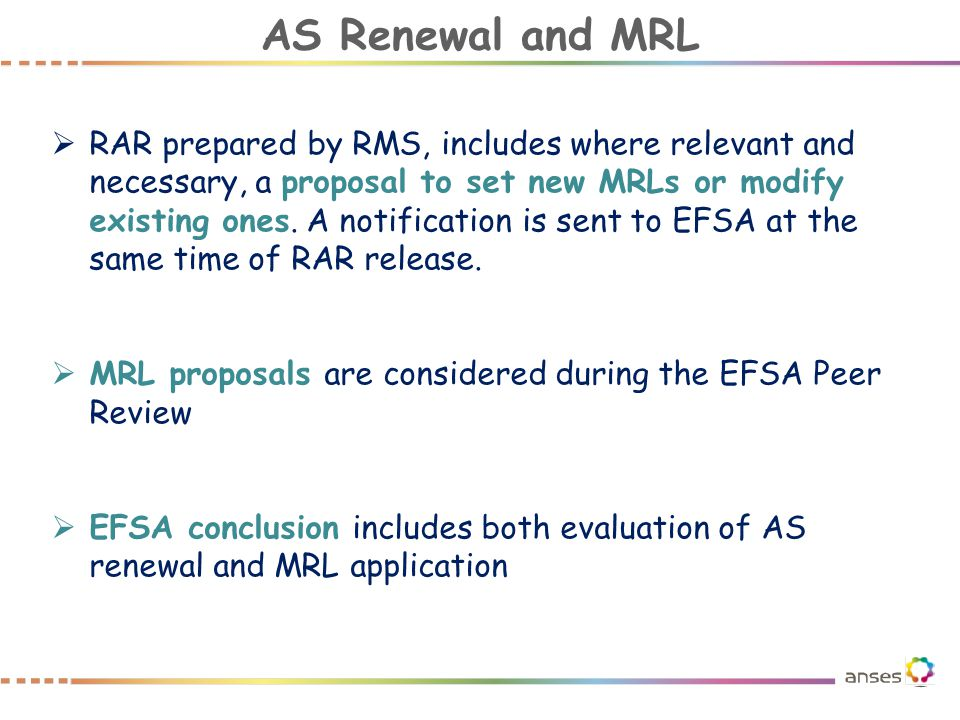 AS Renewal and MRL