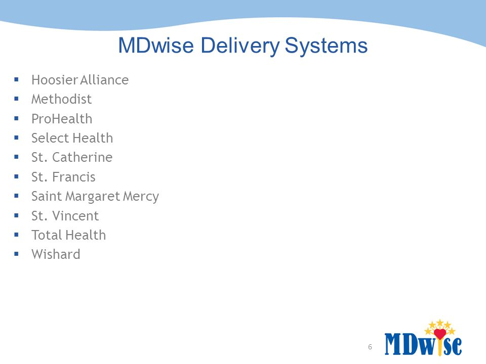 MDwise Delivery Systems