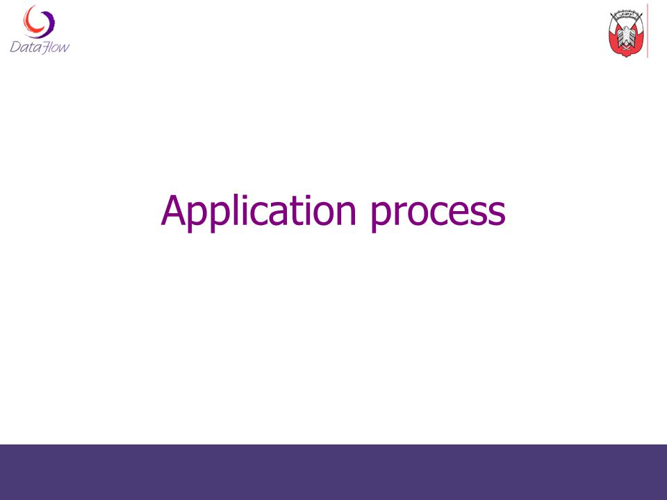 Application process 6
