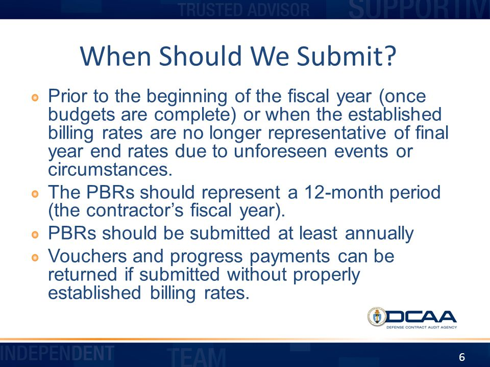 When Should We Submit