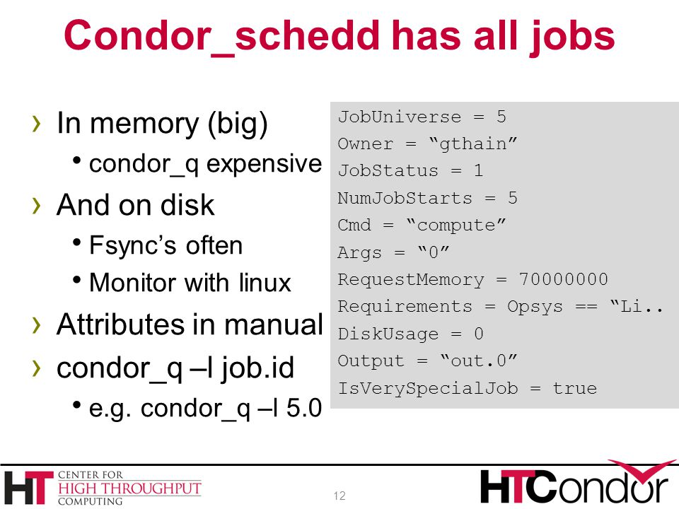 Condor_schedd has all jobs
