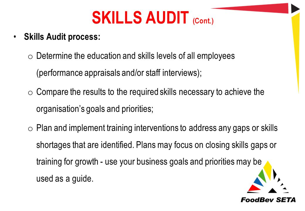 How to conduct a skills audit and identify skill gaps