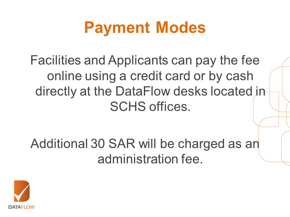Additional 30 SAR will be charged as an administration fee.