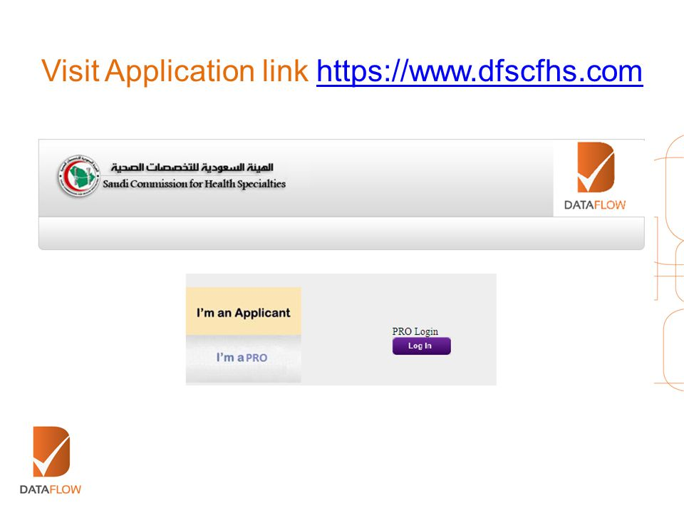 Visit Application link https://www.dfscfhs.com