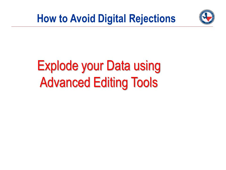 How to Avoid Digital Rejections