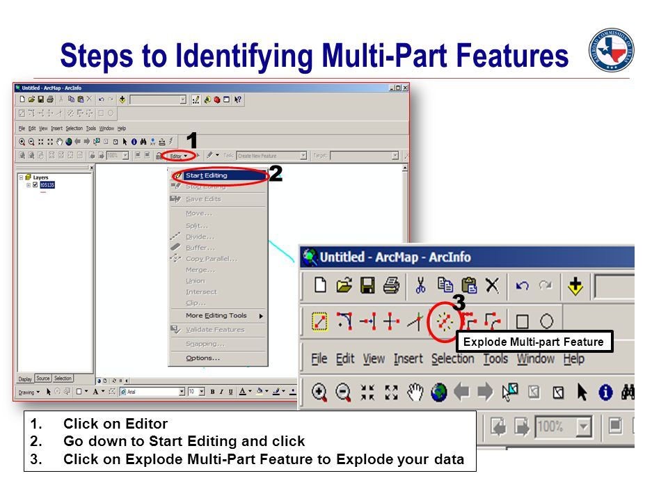 Steps to Identifying Multi-Part Features