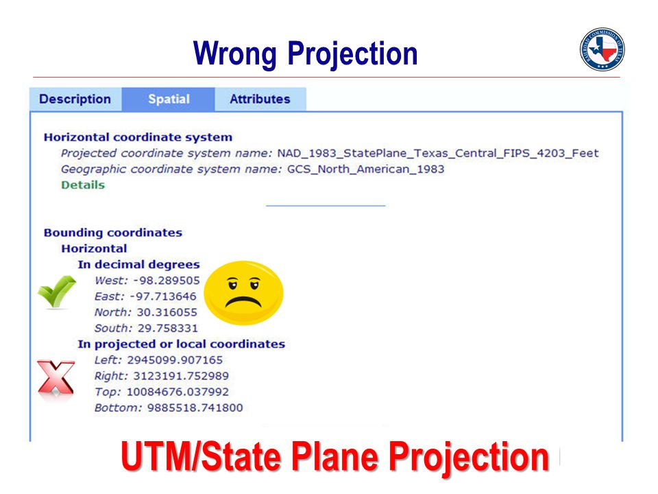 UTM/State Plane Projection