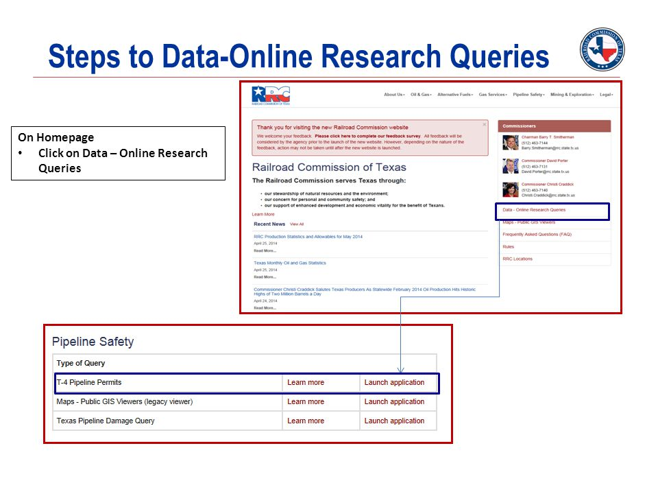 Steps to Data-Online Research Queries