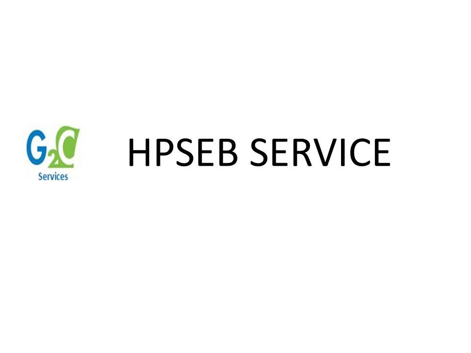 HPSEB SERVICE