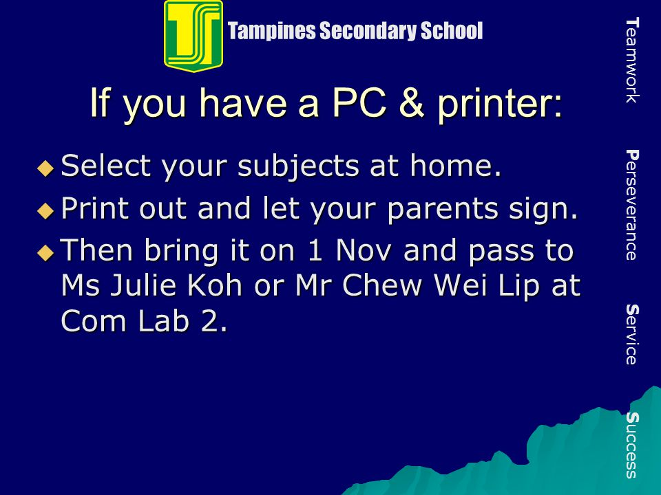 If you have a PC & printer: