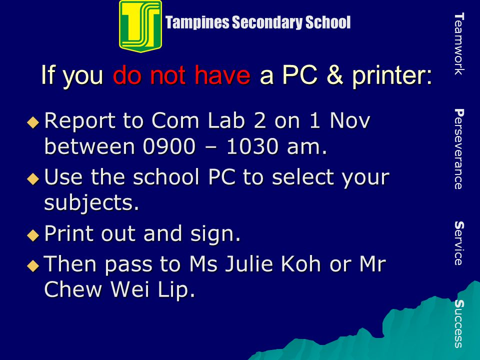If you do not have a PC & printer: