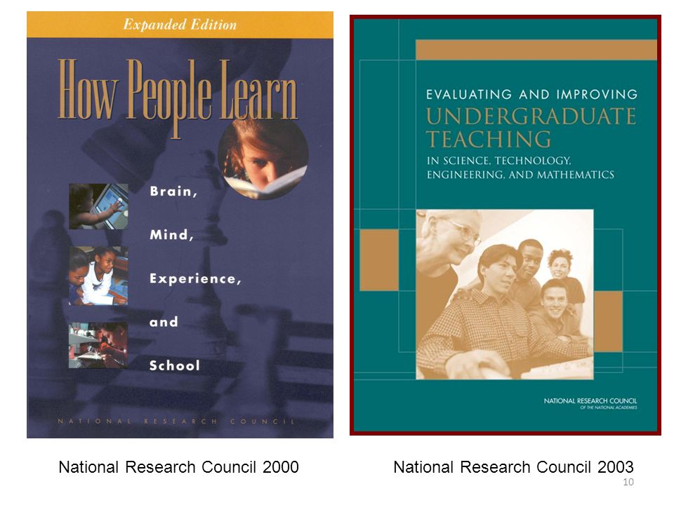 National Research Council 2000 National Research Council 2003