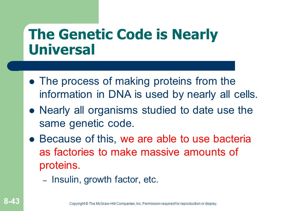 The Genetic Code is Nearly Universal