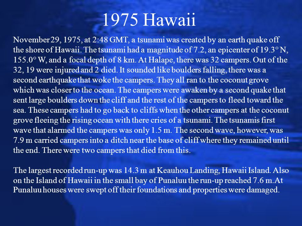 1975 Hawaii