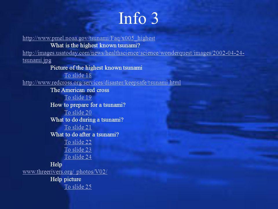 Info 3 http://www.pmel.noaa.gov/tsunami/Faq/x005_highest