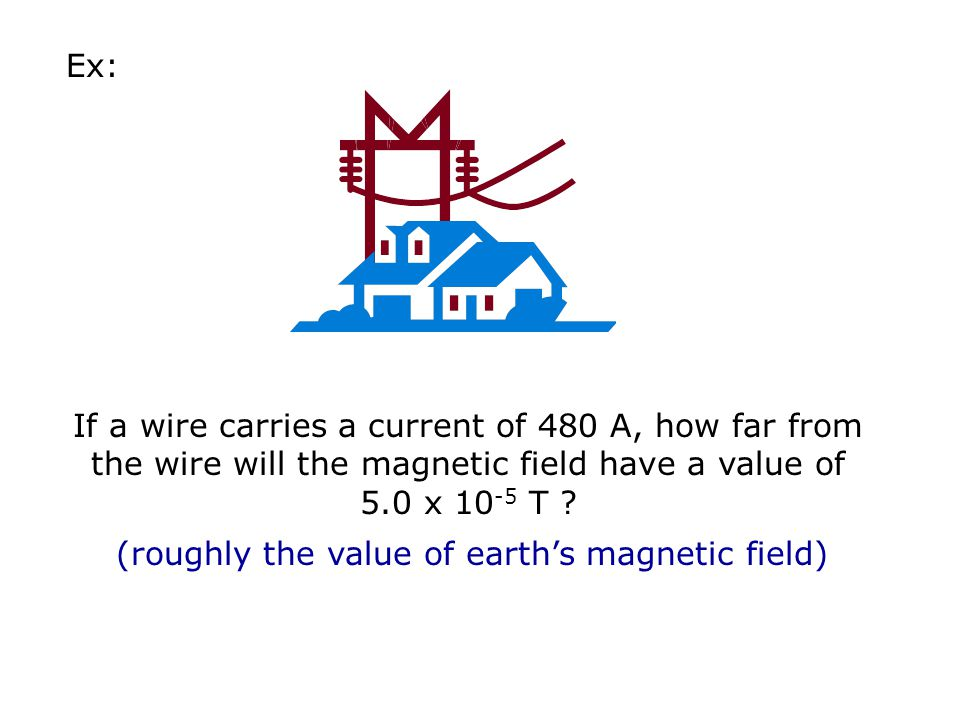 (roughly the value of earth's magnetic field)
