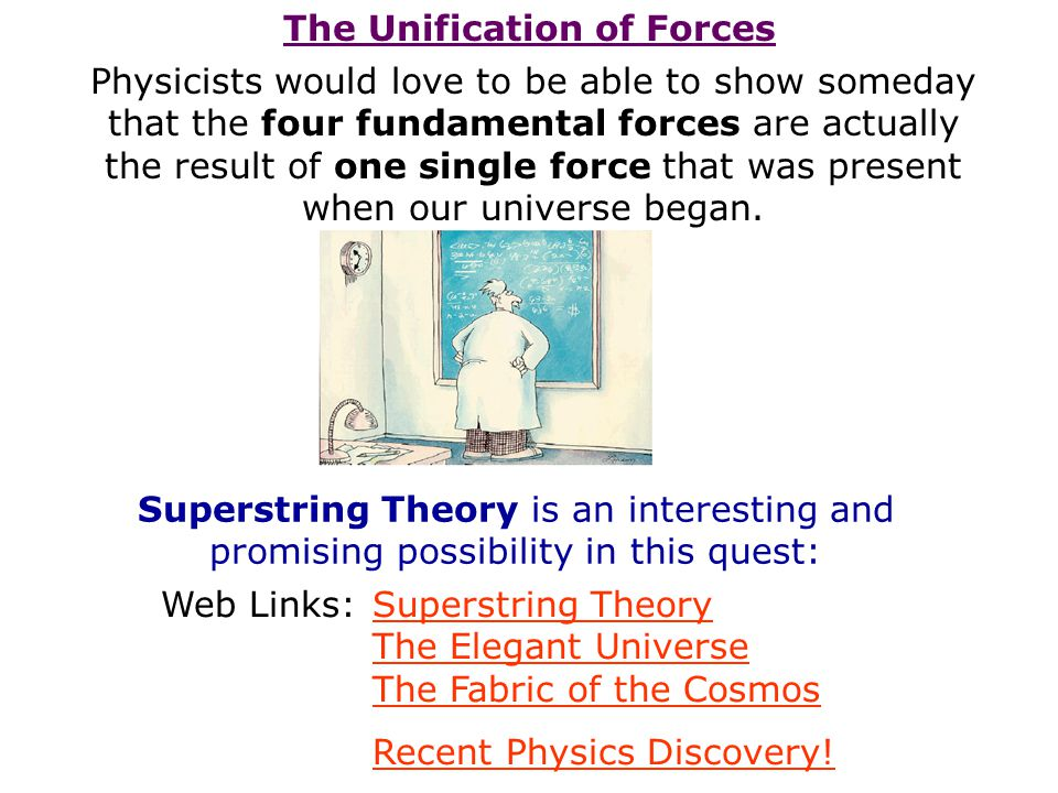 The Unification of Forces