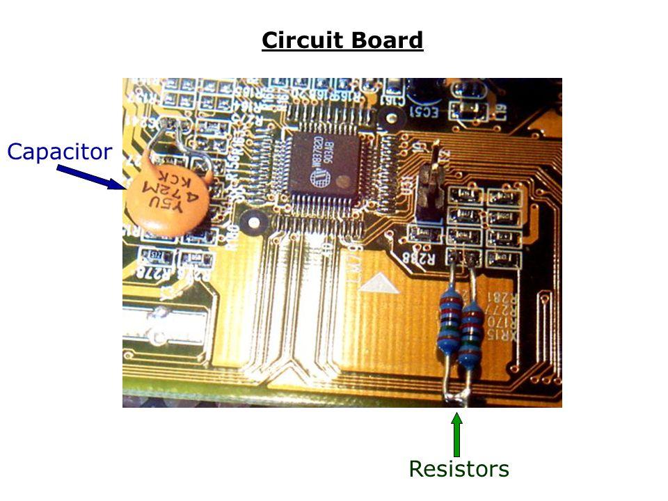 Circuit Board Capacitor Resistors