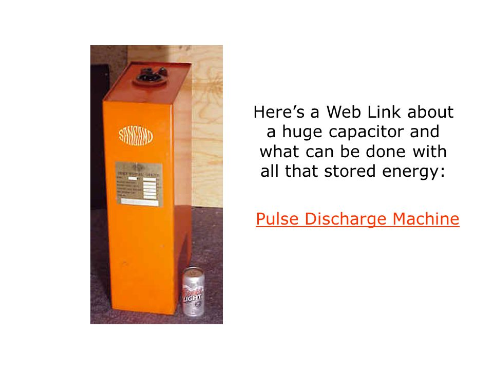 Pulse Discharge Machine