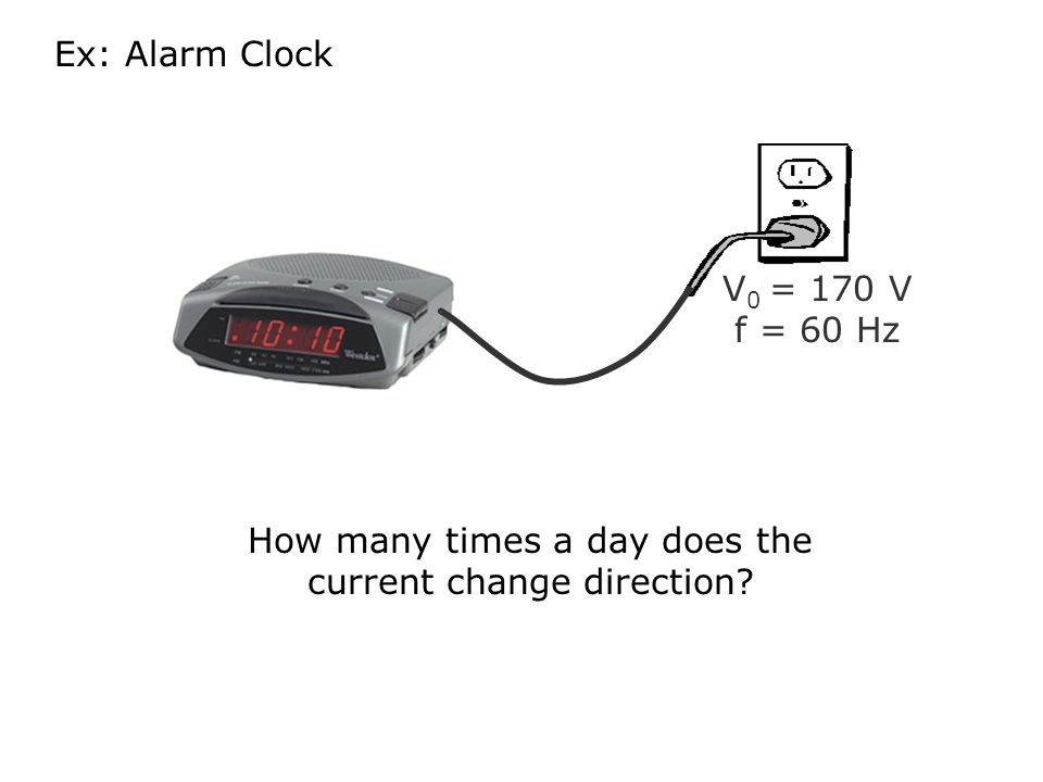 How many times a day does the current change direction
