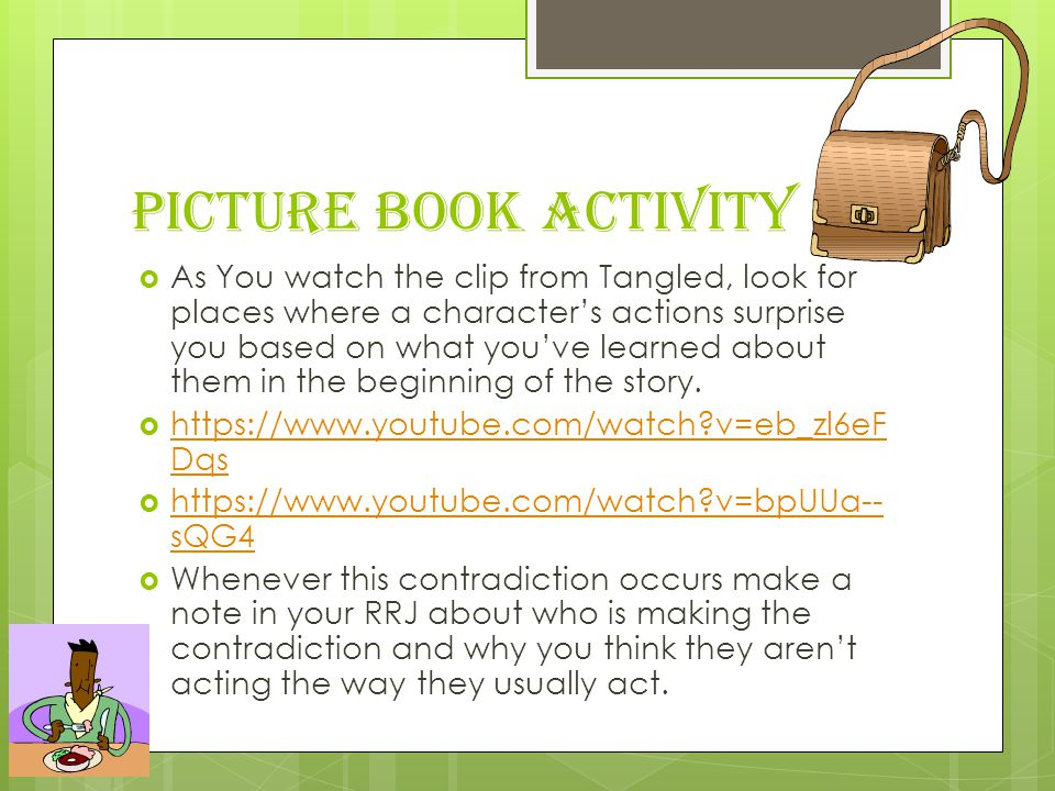 Picture Book Activity