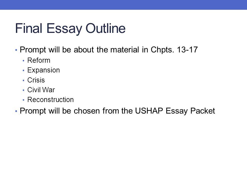 essay about civil war reconstruction