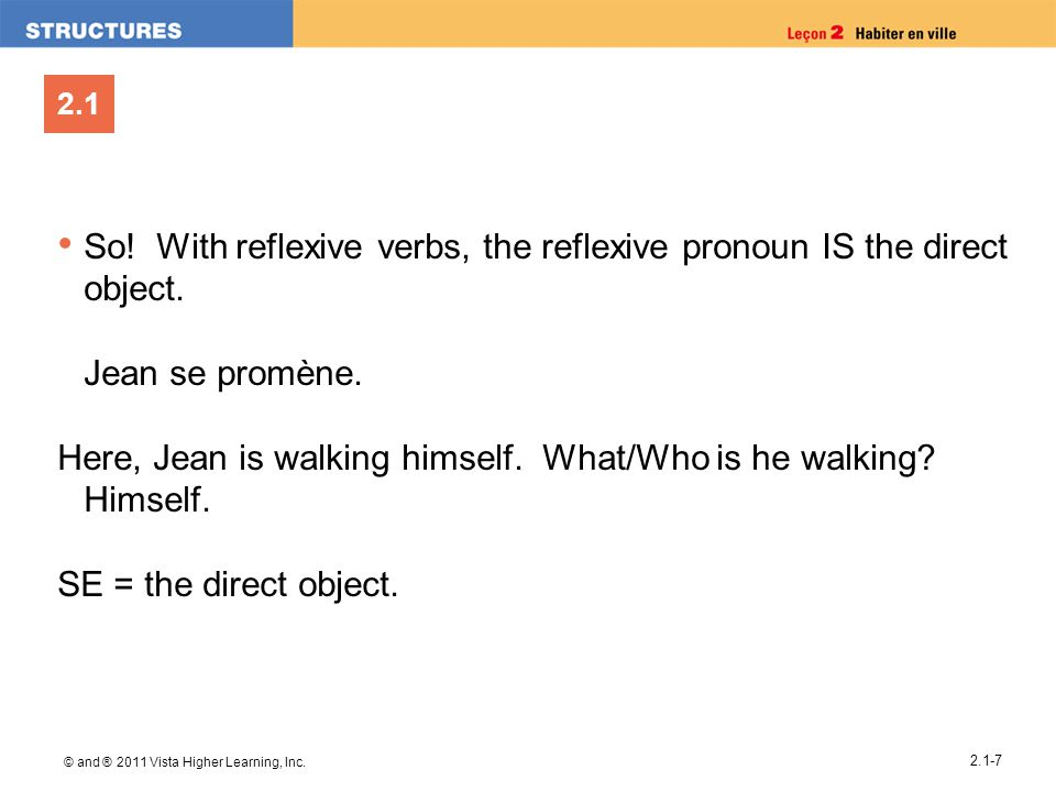 So! With reflexive verbs, the reflexive pronoun IS the direct object.
