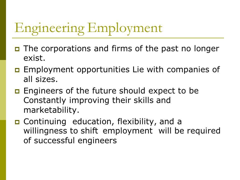 Engineering Employment
