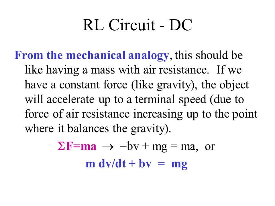 RL Circuit - DC