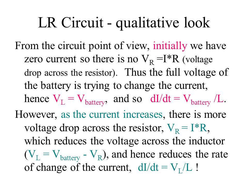 LR Circuit - qualitative look