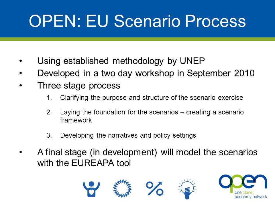 OPEN: EU Scenario Process