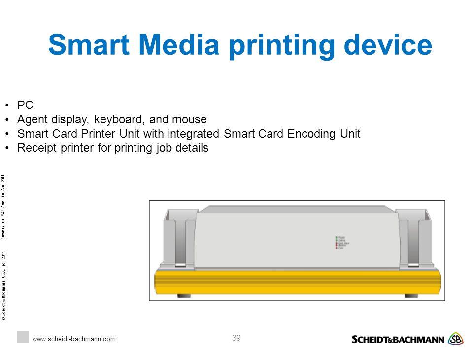 Smart Media printing device