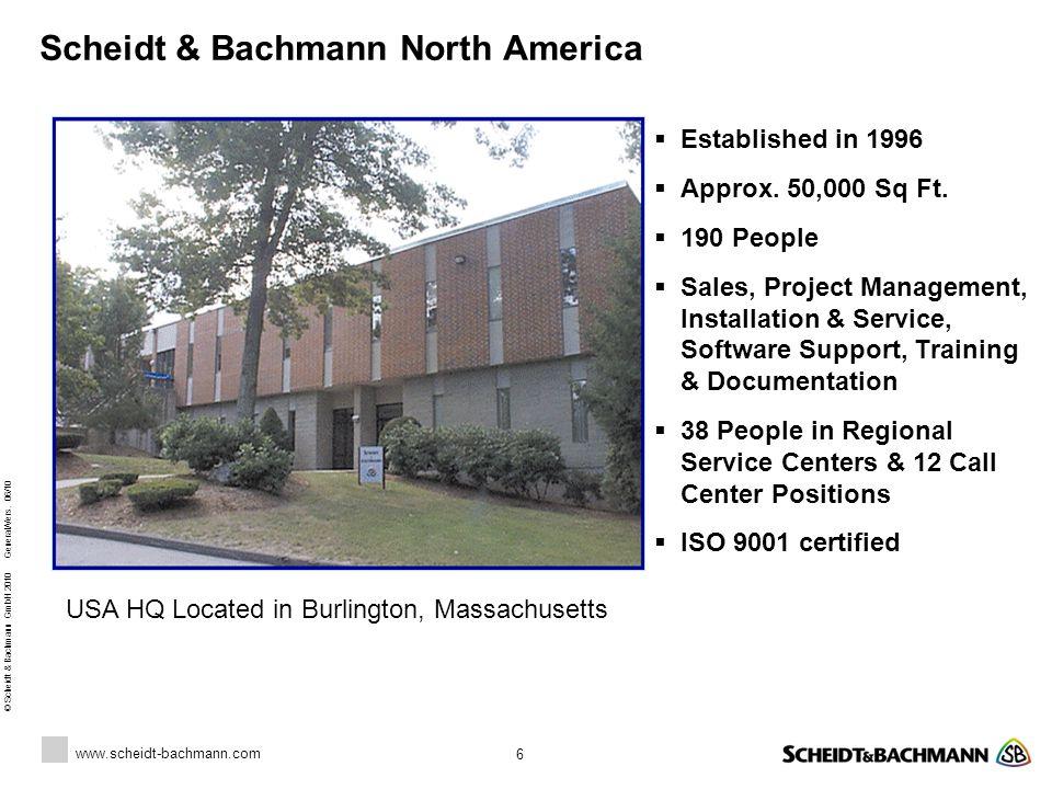 Scheidt & Bachmann North America