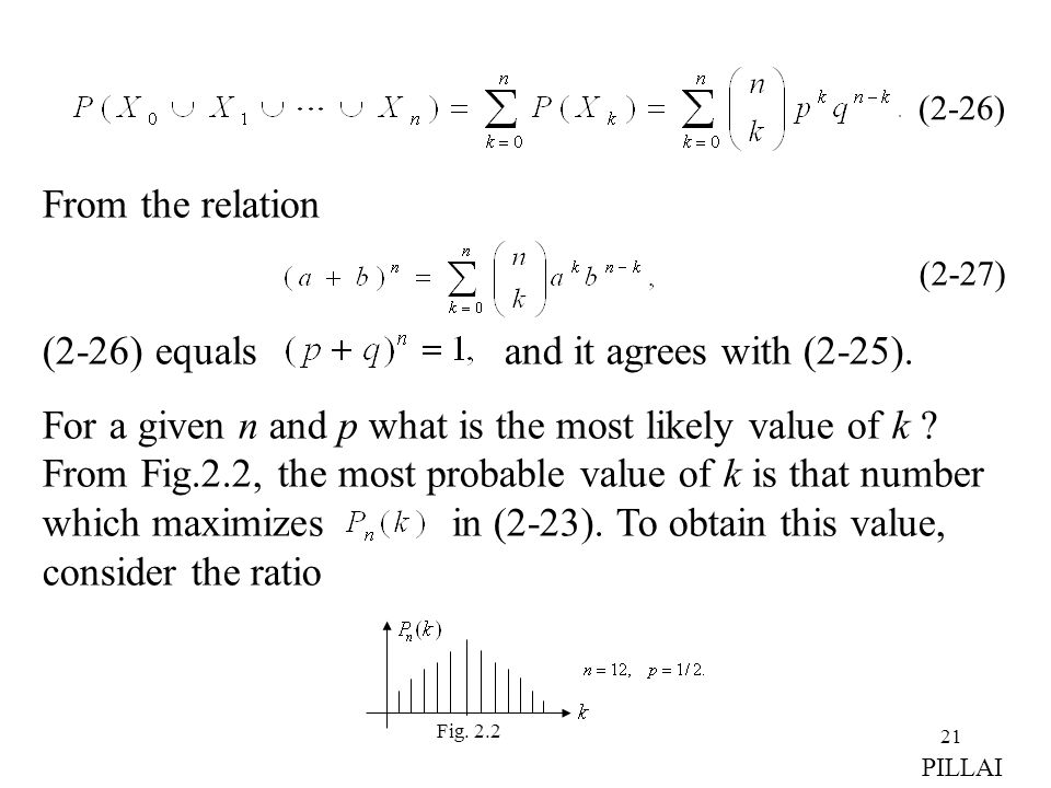 (2-26) equals and it agrees with (2-25).