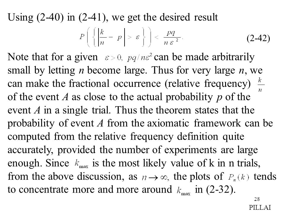 Using (2-40) in (2-41), we get the desired result